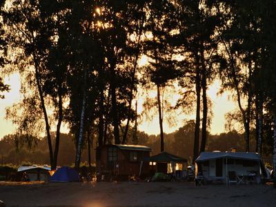 HERTHA-SEE - Sonnenuntergang