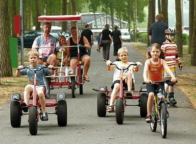 Kettcar und Fahrräder