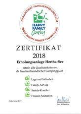 Auszeichnung - Happy Family Camping 2018