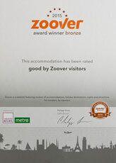 Auszeichnung - Zoover-2015